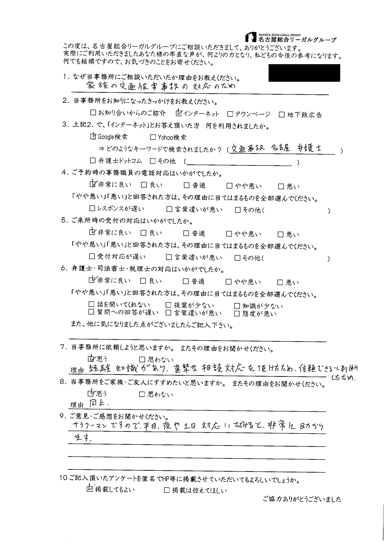 No.12 匿名希望 様